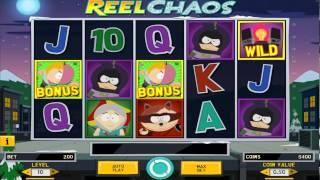 South Park Reel Chaos Slot Machine Game - No Sound!