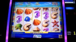 Mystic Pearls Penny Slot Machine Bonus Win