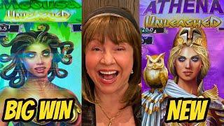 BIG WIN! NEW GAMES-MEDUSA & ATHENA UNLEASHED