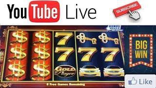 • LIVE PLAY! BIG WINS! DANCING DRUMS - PURE GOLD & KONAMI Slot Machine BONUSES / FREE SPINS!
