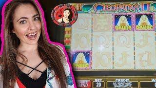 AMAZING Cleopatra 2 Wins FEAT. Progressive Handpay Jackpot!