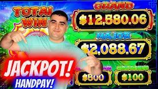 ⋆ Slots ⋆HANDPAY JACKPOT⋆ Slots ⋆ On High Limit Lock It Link Slot Machine   Las Vegas Casino JACKPOT