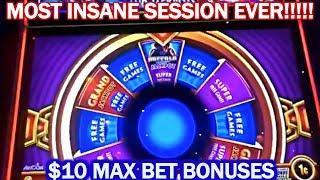• BUFFALO DELUXE • HUGE WINS • WONDER 4 JACKPOTS • $10 MAX BET BONUS • STAMPEDE! •