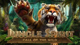 Jungle Spirit: Call of the Wild - BIG WIN - NetEnt Slot - 2€ BET!