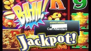 • CALL ATTENDANT • Dancing Drums Slot Machine • $8.80 Max Bet Jackpot Handpay!  • Slot Traveler