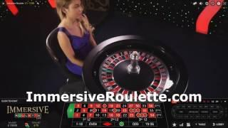 £200 Vs Immersive Roulette 25th November 2016