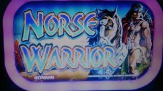 HORSE WARRIOR - BONUS 10c - KONAMI SLOT MACHINE