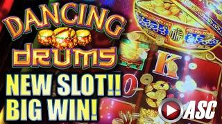 •NEW SLOT! BIG WIN!• DANCING DRUMS (88 FORTUNES SEQUEL) Slot Machine Bonus (SG)
