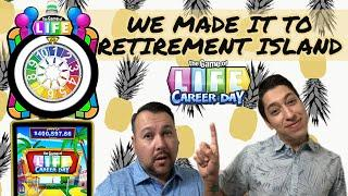 The Game of Live Career Day We Made It To RETIREMENT ISLAND!