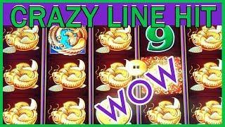 • CrAzY Line Hit + MORE on 5 Treasures • Aria Casino • Slot Machine Pokies w Brian Christopher
