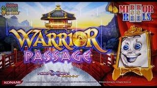 Konami Gaming: Mirror Reels - Warrior Passage Slot Bonus WIN