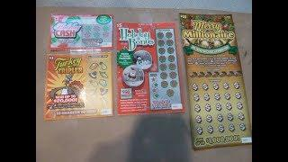 NEW - Illinois HOLIDAY Instant Lottery Tickets