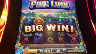 Top Row!! Ultimate Fire Link Nice Win