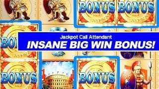 INSANE HIGH LIMIT WINNING STREAK!!! ★ Slots ★ FREE SPIN MAXIMUS BONUS ★ Slots ★ JACKPOT HANDPAY!