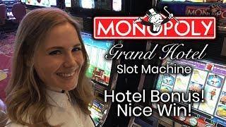 MONOPOLY Grand Hotel! Hotel Bonus!!! Nice win!!!