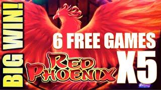 •BIG WIN!• MY BEST RED PHOENIX RUN! • SUPER RED PHOENIX & RISE OF RA Slot Machine