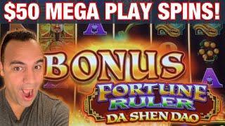 • $50 FORTUNE RULER MEGA PLAY BETS!! | REEL RICHES HUGE REEL BONUS!! •••