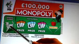 """New 'MONOPOLY""""Scratchcards Coming..LETS LOOK?.... tonight I'll do Scratchcard Game"""