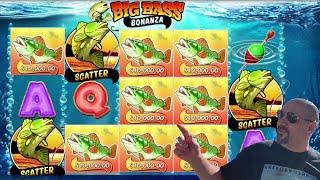 ⋆ Slots ⋆️LOSING A $10,000.00 FISH!!!⋆ Slots ⋆️ BIG BASS BONANZA SLOT MACHINE!
