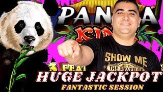 HUGE HANDPAY JACKPOT Panda King AINSWORTH Slot Machine | Live High Limit Slot Play In Las Vegas