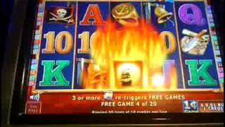 TREASURE HUNT slot machine Bonus Win