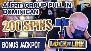 ⋆ Slots ⋆ ALERT: Group Pull in Dominican ⋆ Slots ⋆ Can We Hit a Lock It Link HANDPAY at Hard Rock? Spoiler: YES!