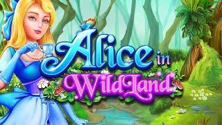 Alice in WildLand Online Slot Promo