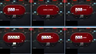 Global Poker Run it Up Episode 3 10nl 6-Max Cash Game
