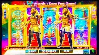 ++NEW Game of the Gods slot machine, Double, Bonus or Bust