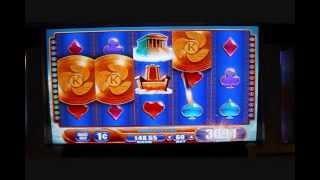 Kronos Slot Bonus Round Win - Rampart Casino Las Vegas