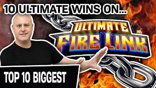 ⋆ Slots ⋆ ULTIMATE Top 10: Best Wins on Ultimate Fire Link ⋆ Slots ⋆ It's ALL Here: Glacier, Route 66, River Walk!
