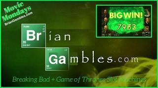 Breaking Bad + Game of Thrones Slot Machines •TV/MOVIE MONDAYS• Live Play at Bellagio, Las Vegas