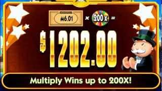 SUPER MONOPOLY MONEY Slot Machines By WMS Gaming