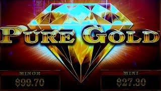 Pure Diamonds Good Fortune Slot New Slot Live Play And