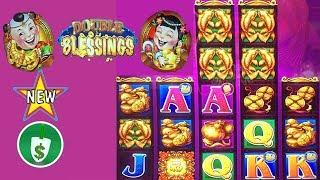 •️ New - Double Blessings slot machine, bonus