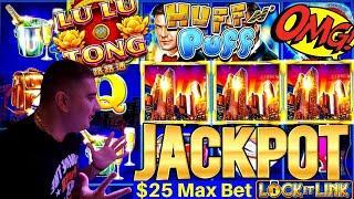 High Limit Lock It Link Slot Machine ★ Slots ★HANDPAY JACKPOT★ Slots ★ | NEW Lu Lu Tong Lock It Link