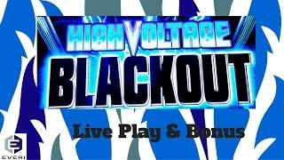 ( First Attempt ) Everi - High Voltage Blackout : Live Play $1.50 bet