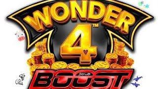 Wonder 4 Boost 80 Free Games $16.50/Spin Max Bet Bonus & More!