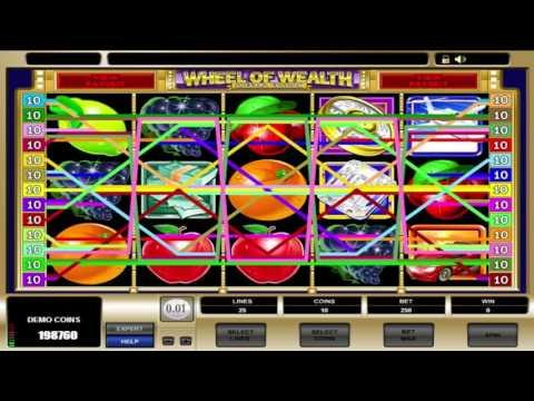 Free Wheel of Wealth Special Edition slot machine by Microgaming gameplay ★ SlotsUp