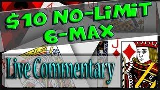 Bovada 10NL 6 Max Cash Game - Texas Holdem Poker - Commentary/Gameplay