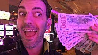 • $1,000 Cash in the Casino • LIVE at San Manuel Casino • Slot Machine Fun