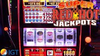 Super Red Hot Jackpots Slot Machine from IGT