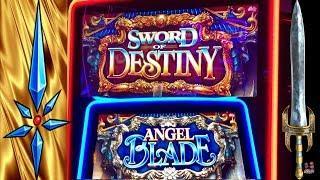 •BONUS WIN• SWORD OF DESTINY SLOT •ANGEL BLADE SLOT •LIVE PLAY, CASINO GAMBLING!! SGBALLY!