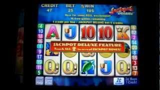 Jackpot Deluxe - Dolphin Treasure Bonus 2c Aristocrat Slots