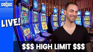 •Live MASSIVE JACKPOT HANDPAY • Brian Christopher SLAYS the High Limit Room • BCSlots