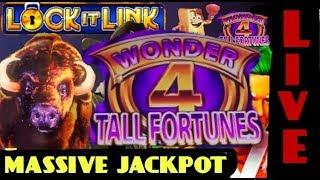•LIVE CATCH• MASSIVE JACKPOT  BUFFALO GOLD (TALL FORTUNES)