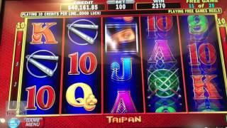 $5,040 Jackpot! | 25 FREE Games | Taipan Game | The Cosmopolitan Casino