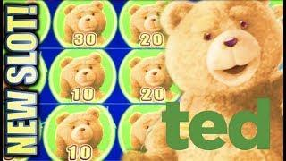 •NEW SLOT! MIGHTY CASH TED• • LOVE IT OR HATE IT? Slot Machine Bonus Win (Aristocrat)