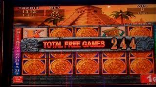 Mayan Chief Slot Machine Bonus - 252 FREE SPINS - Disappointing Big Win (#3)