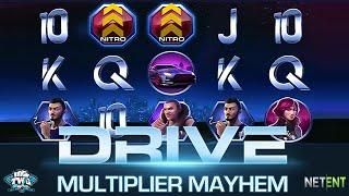 Drive: Multiplier Mayhem Online Slot from NetEnt